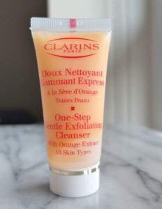 Clarins one stop cleanser