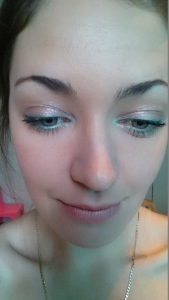 Turquoise and copper eyes