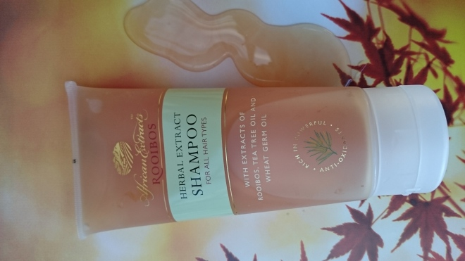 African Extracts shampoo