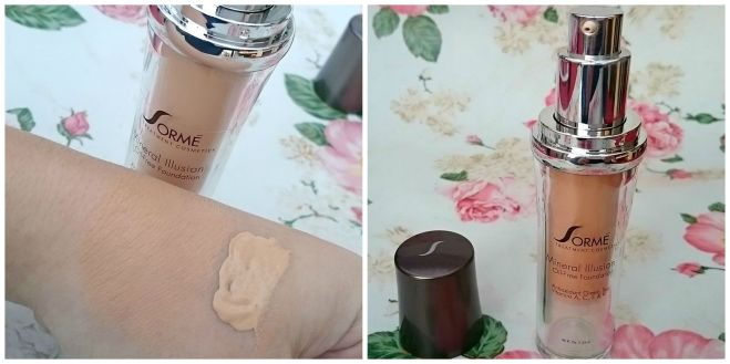 Sorme treatment cosmetics Foundation