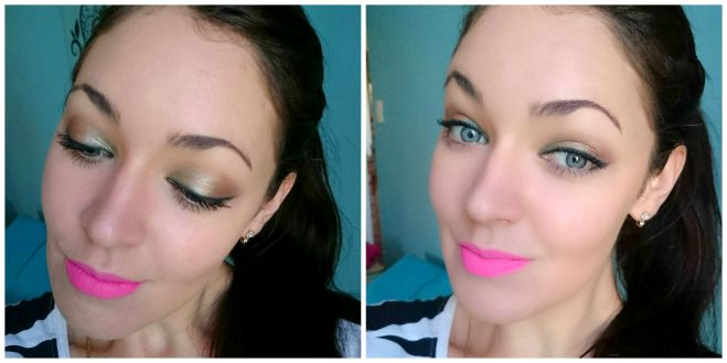 Colourpop eyeshadow .