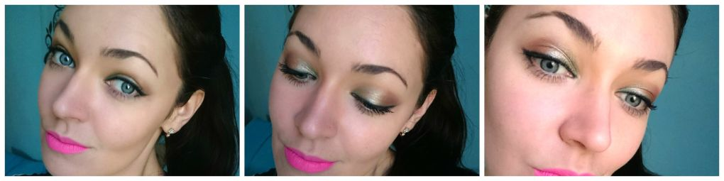 Colourpop Shaaanxo eyeshadow look .