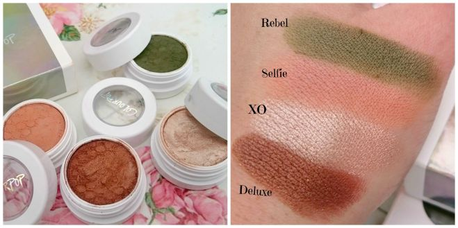 Shaaanxo Colourpop Swatches .