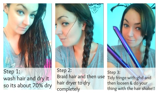 how to use hair shake