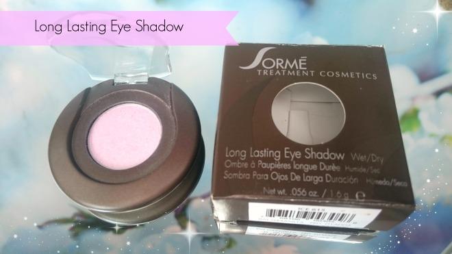 Sorme Long lasting eye shadow