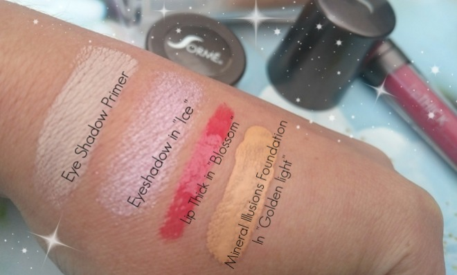 Sorme Makeup Swatches