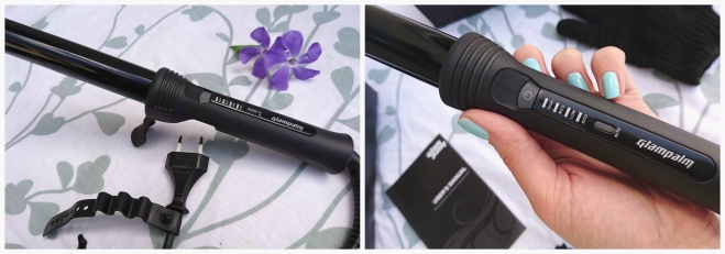 Glampalm curling wand